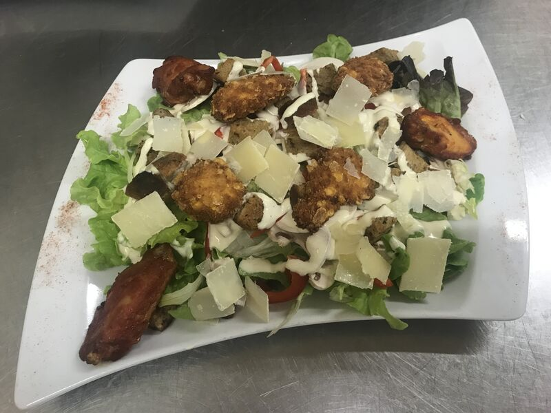 Salade césar revisitée