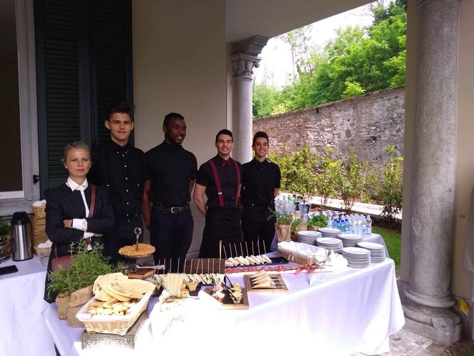 qualche foto dei nostri servizi catering