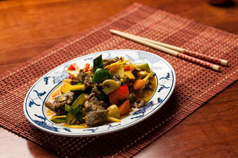 M13 oder 94 | Curry-Rindfleisch