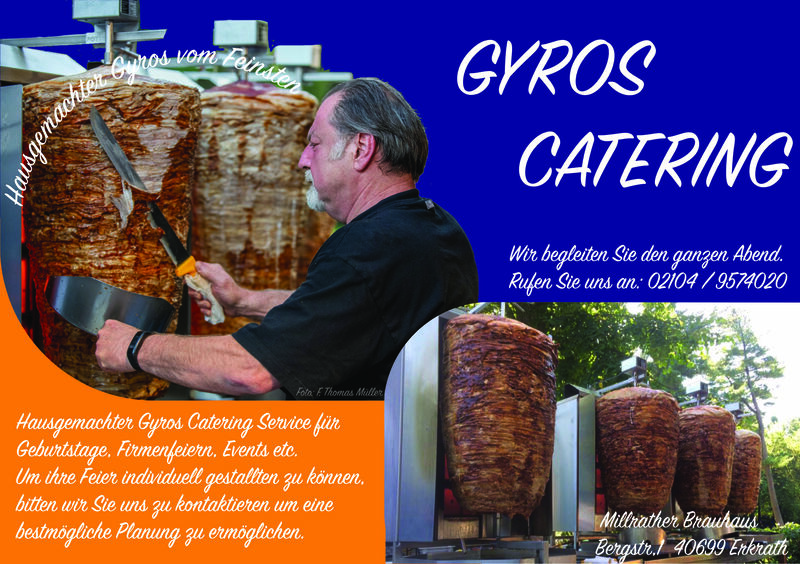 Gyros Catering Service