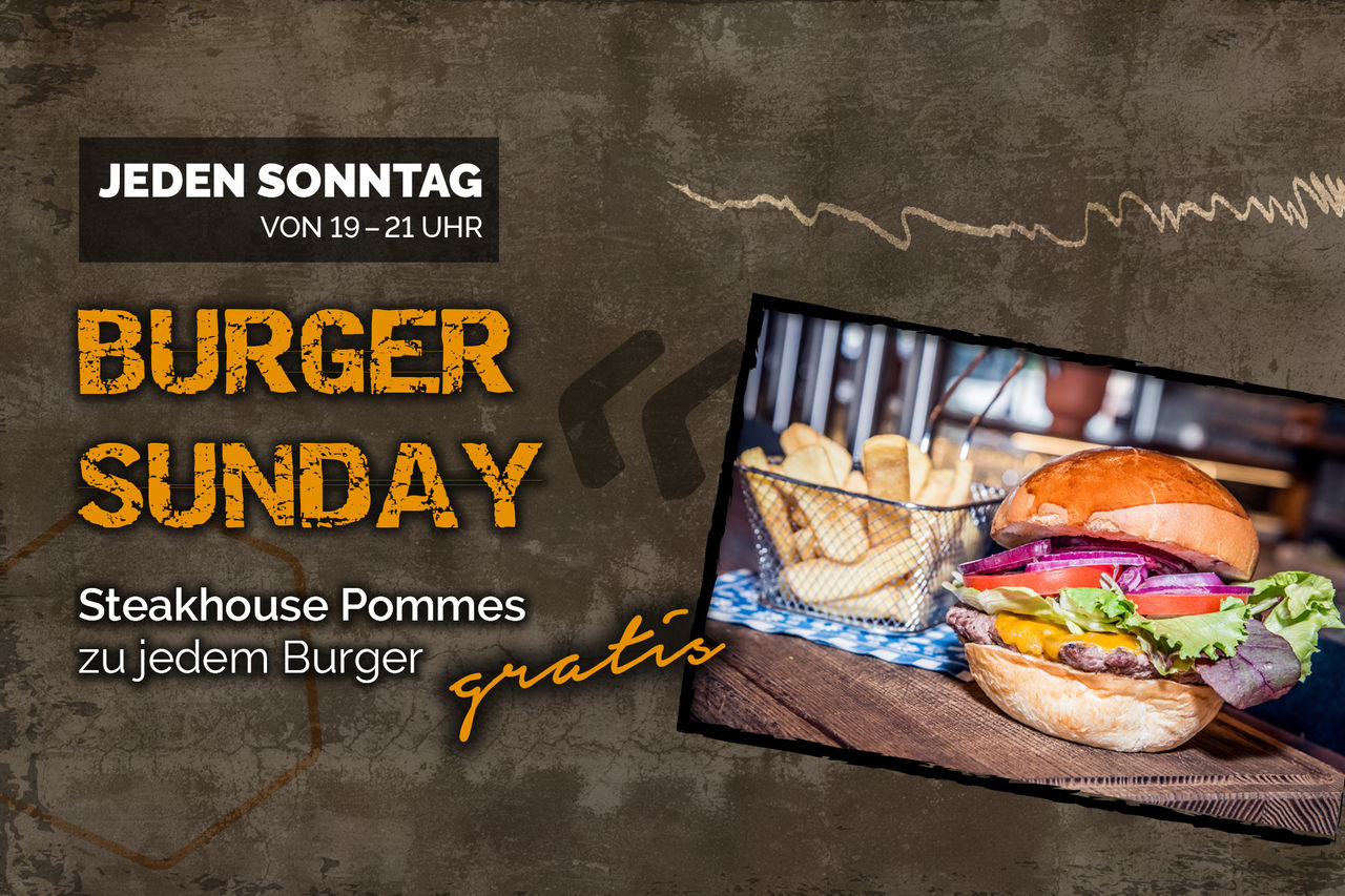 Burger Sunday!