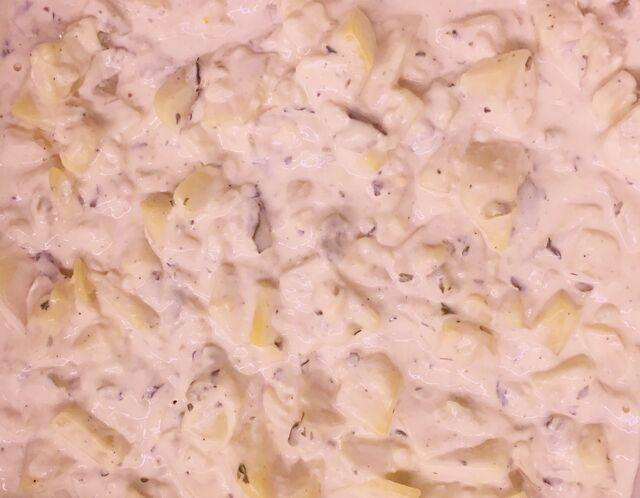 - Mayonnaise Kartoffelsalat-