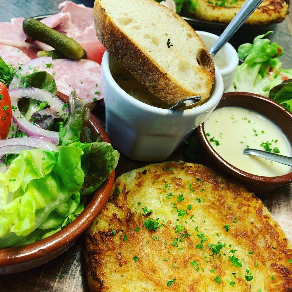 Assiette Jurasienne aux Morilles