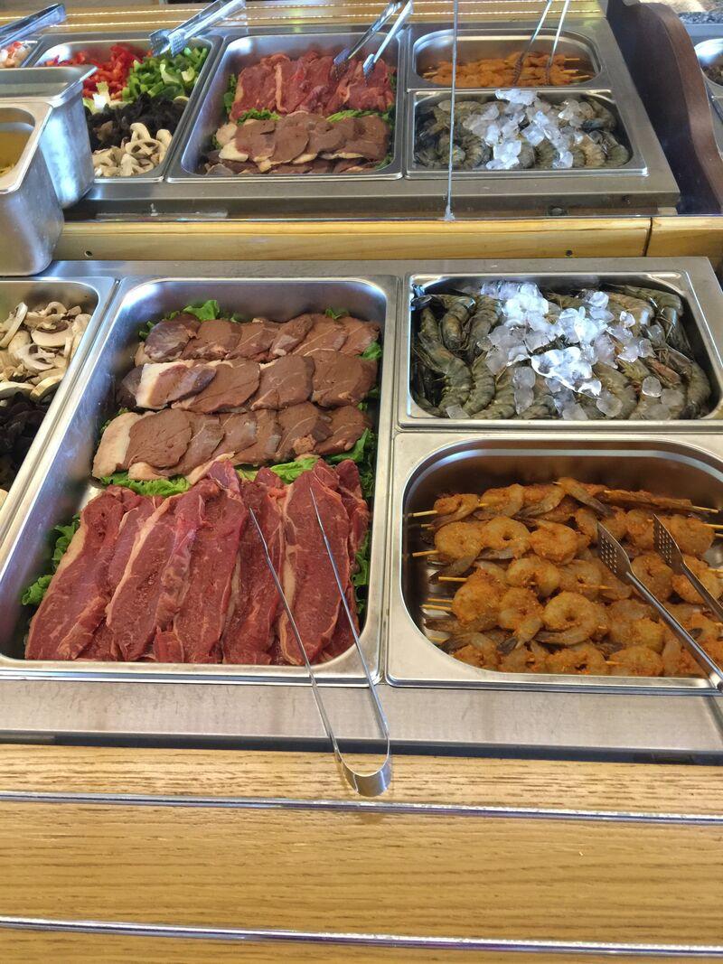 Buffet Grillades