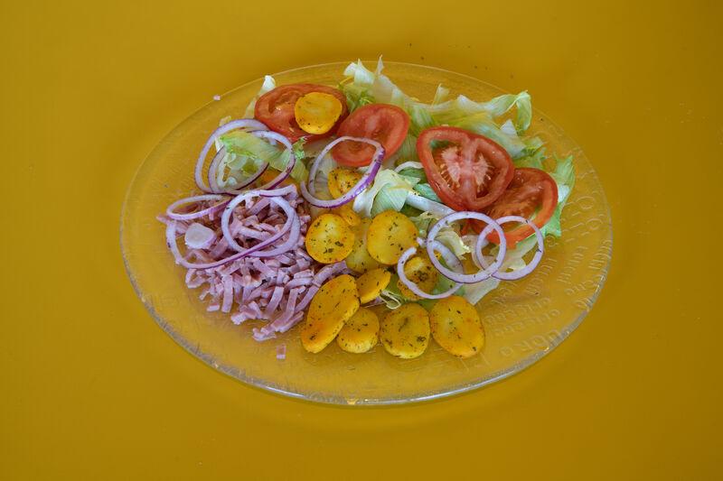 Des salades divers et variées