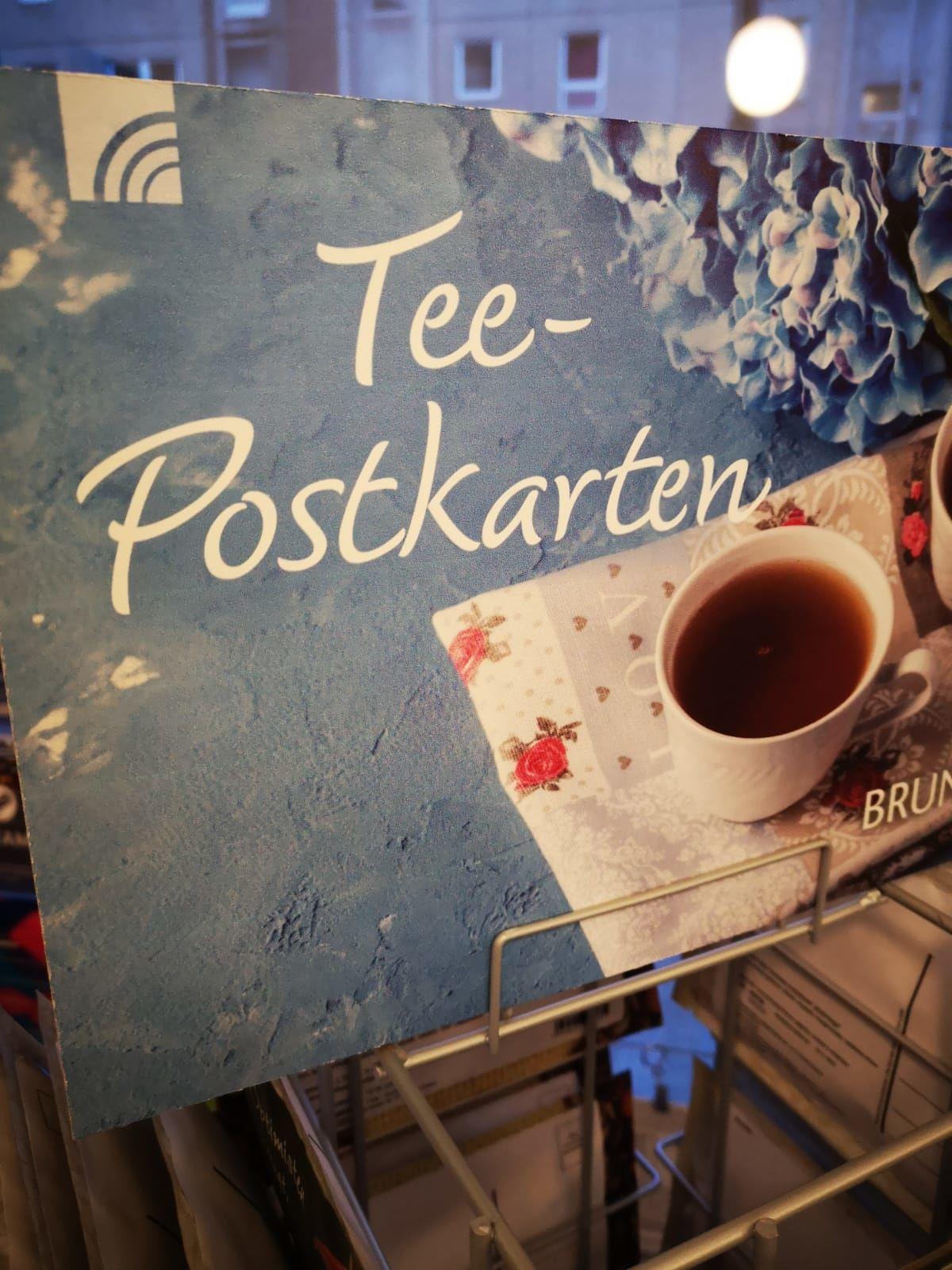 Tee-Postkarten