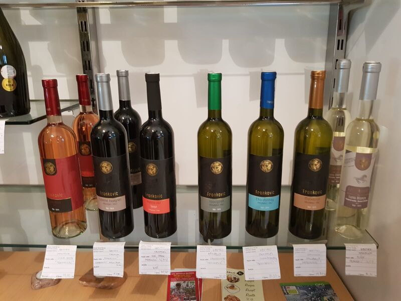 Wine lovers - we have large amount of Croatian wines! Contact us by phone or just stop by our market and food tasting in Bol!