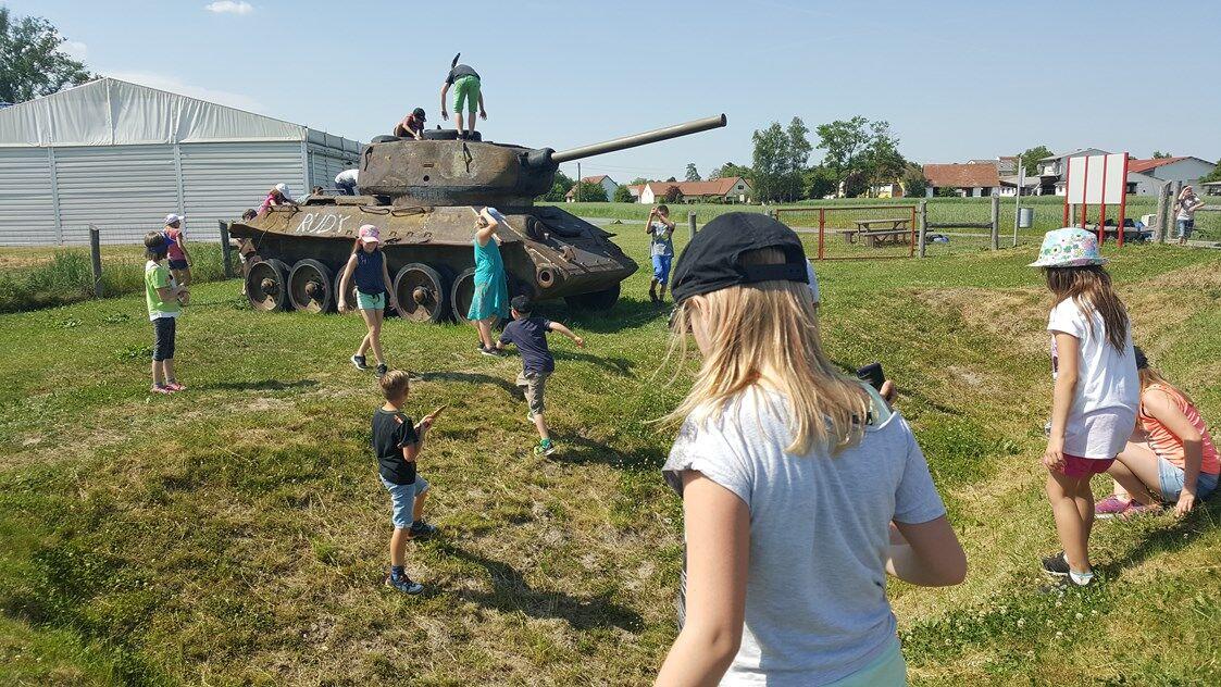Grenzerfahrungsweg Panzer
