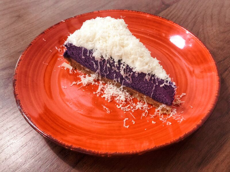 UBE CHEESIEST CAKE Cheesecake de