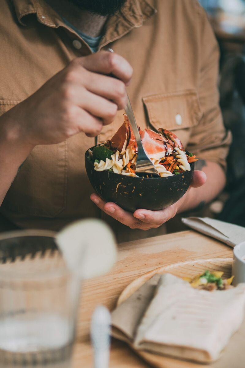 Nuestras ensaladas preparadas totalmente a tu gusto.