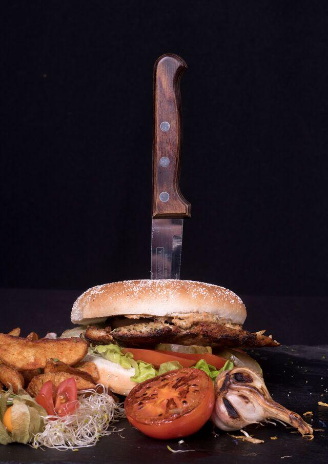 Hähnchen Burger