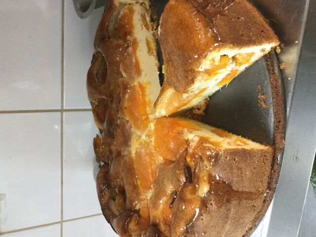 Clafoutis d'abricot