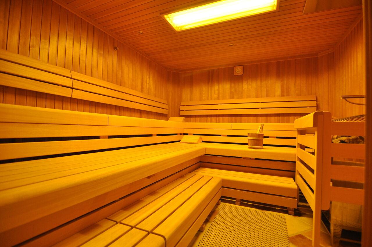 Sauna 45 Grad
