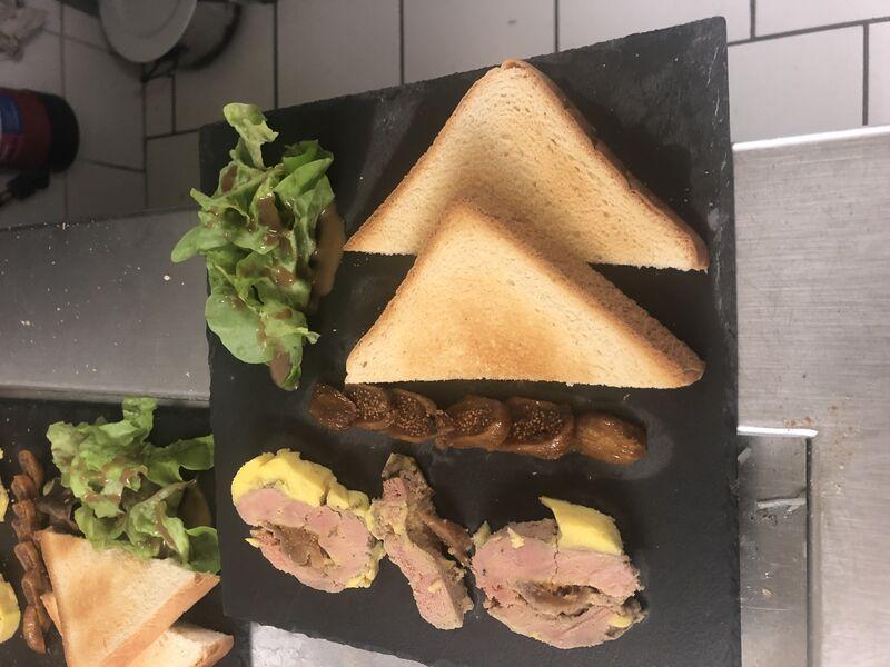 Foie gras maison ..