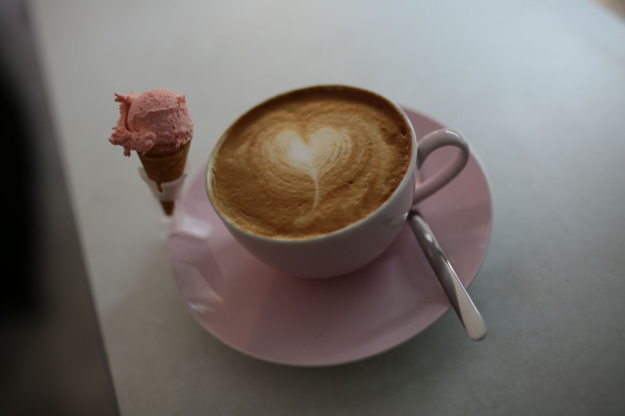 Unser Cappuccino