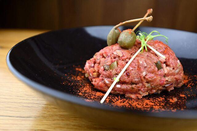 Hovězí tatarský biftek