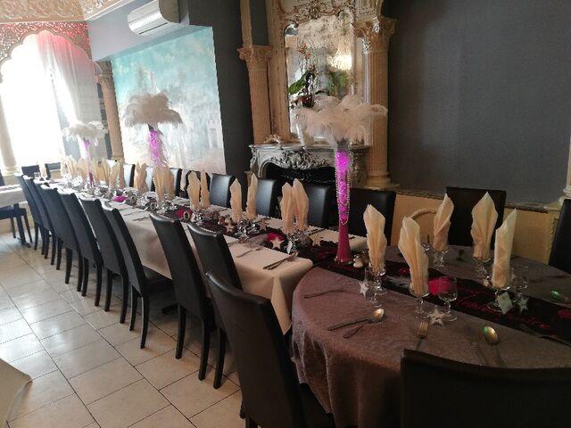 Notre restaurant relooké pour un anniversaire.