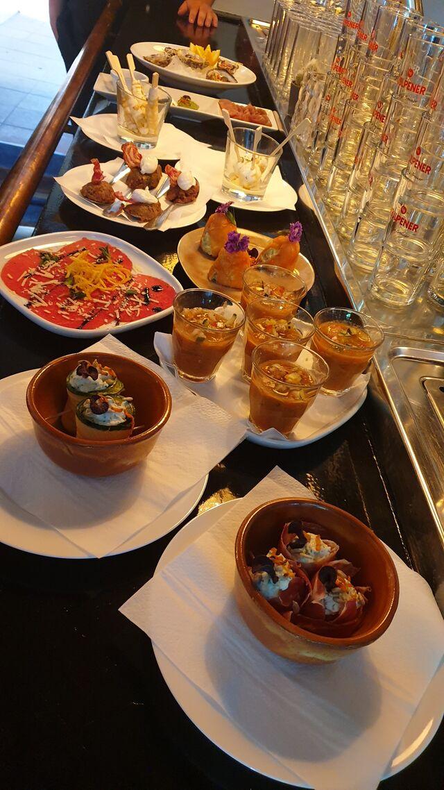 De culinaire reis door Spanje in 5-gangen, een echte aanrader. Aanbieding in juni vanwege de opening € 35,00