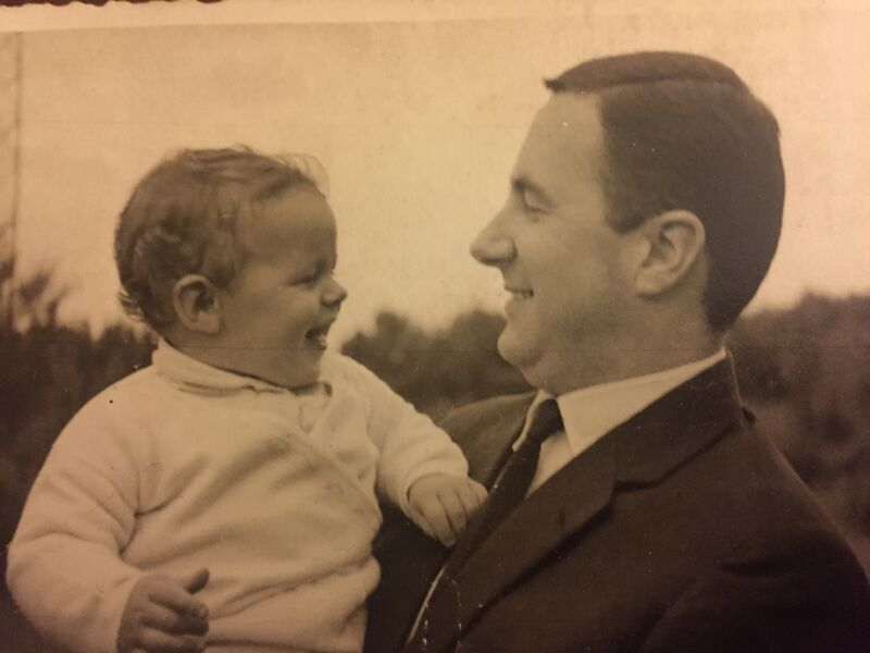 Junior und Senior Chef in erste Gespräch 1961
