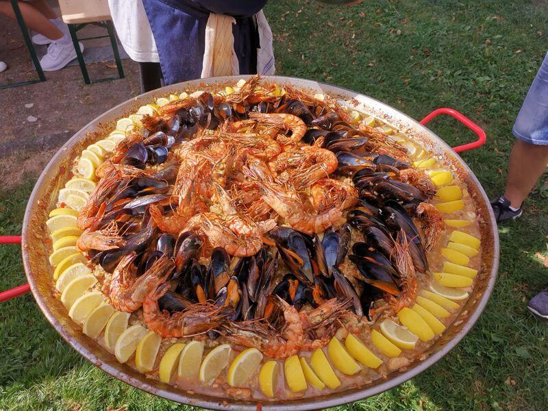 Paella fertig