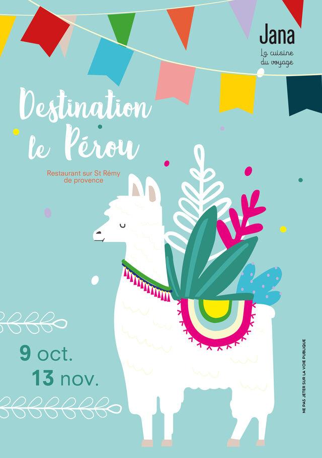 Le Pérou jusqu'au 13 novembre 2019