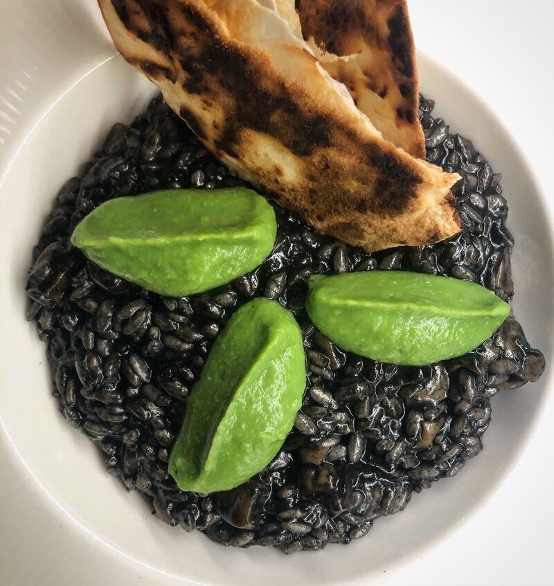 Crni rižoto / Black risotto with cuttlefish