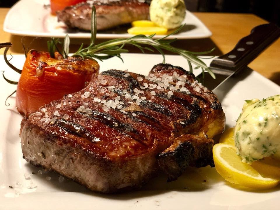Steak dry aged