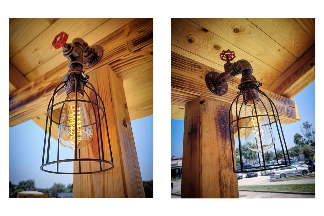 Steampunk Lamps @ Grizzly's BB!