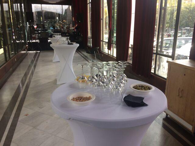 Copa de vino español
