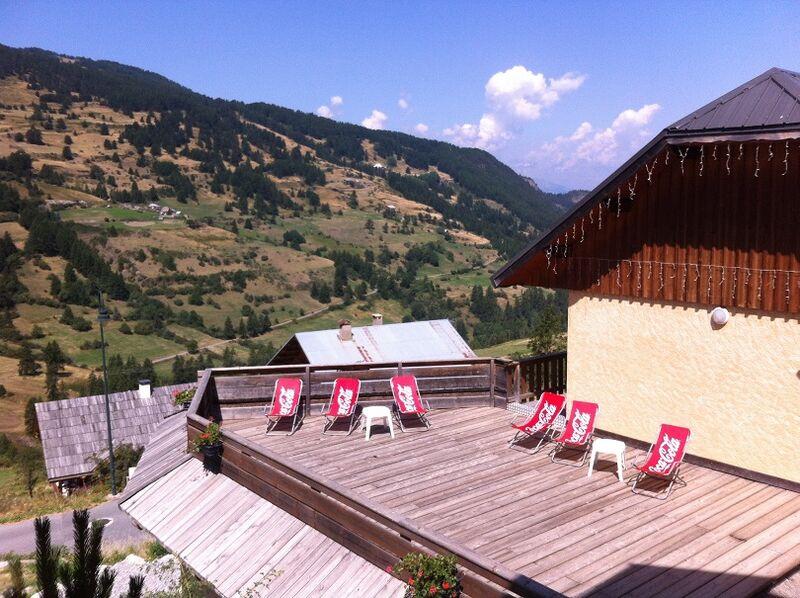 Terrasse vue panoramique