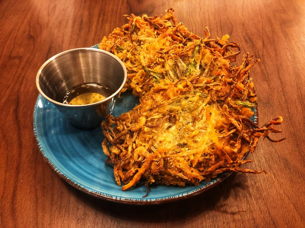 UKOY Torita crujiente de verduras y camarones secos