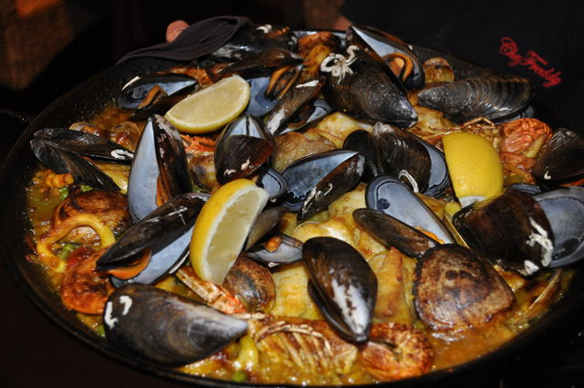 Mariner paella Paella marinière