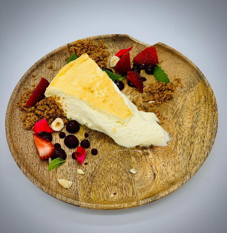 Pastel de queso muyyyy cremoso