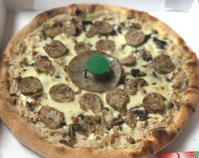 Pizza Andouillette