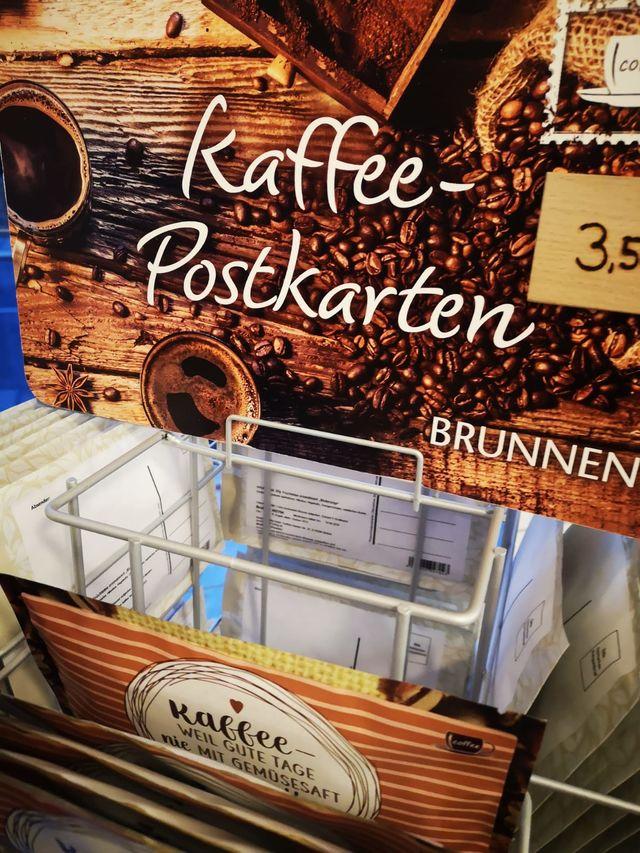 Kaffee-Postkarten