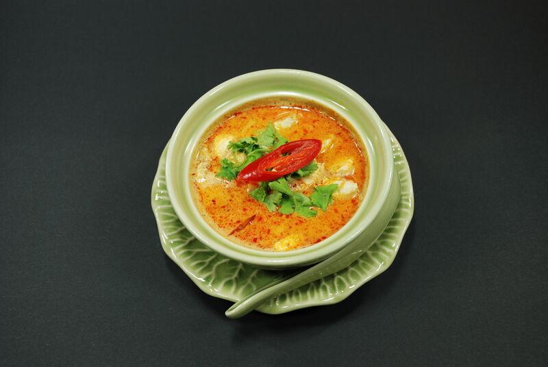 Tom Khaa Gai Hühnersuppe mit Kokosmilk