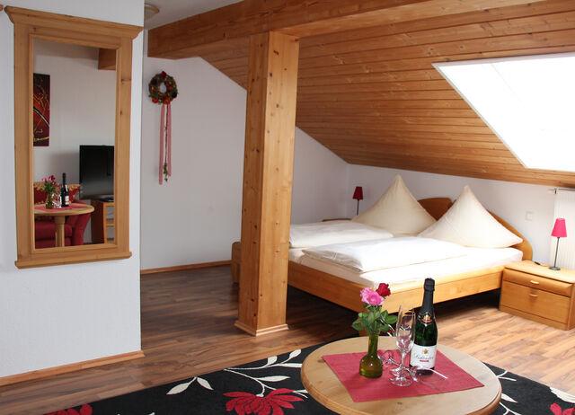 Doppelzimmer auch zur Einzelnutzung