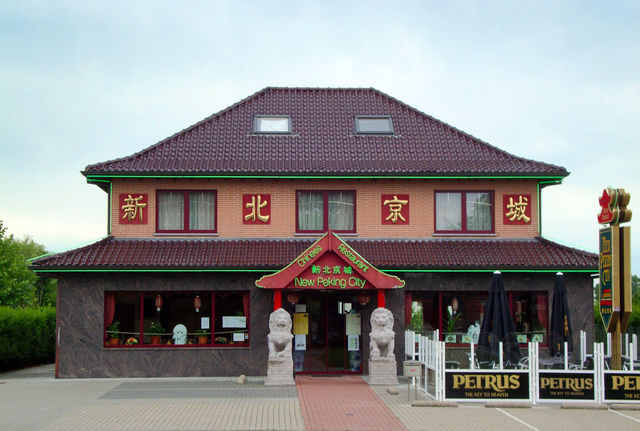 Chinees restaurant Roeselare - New Peking City - voorgevel