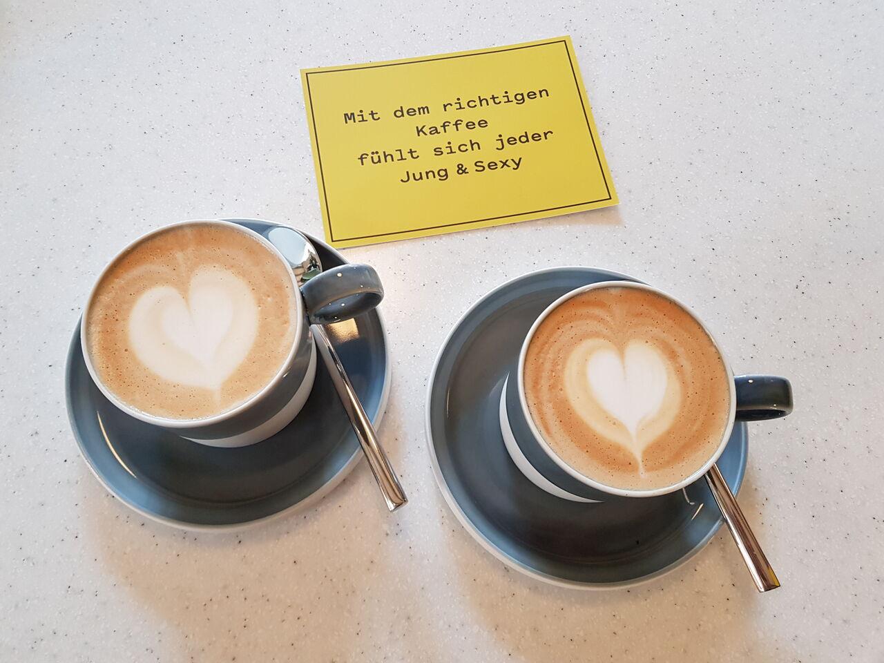 Mit dem richtigen Kaffee fühlt sich jeder Jung & Sexy