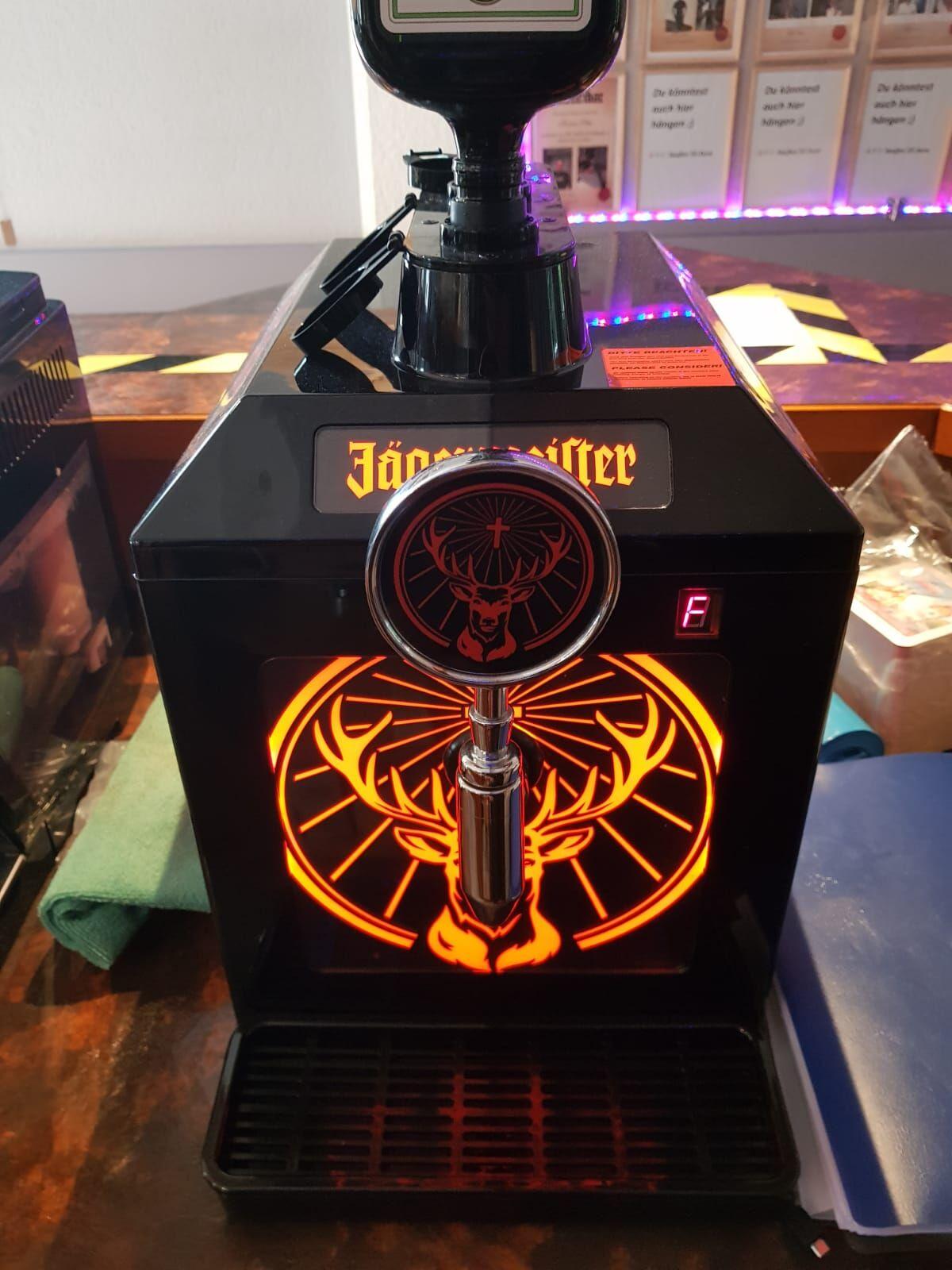 Unsere Jägermeistermaschine für größeren Jägermeistergenuss.