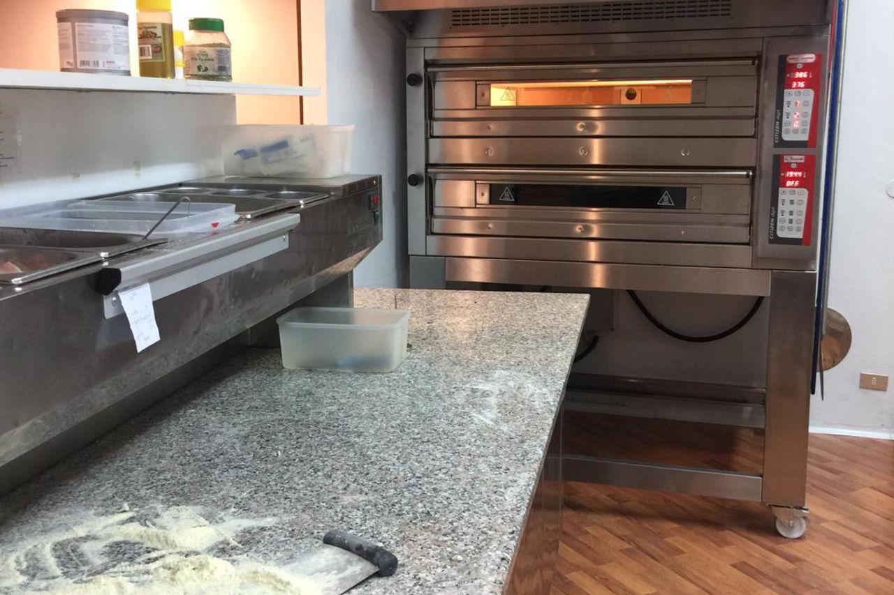 Area preparazione e cottura