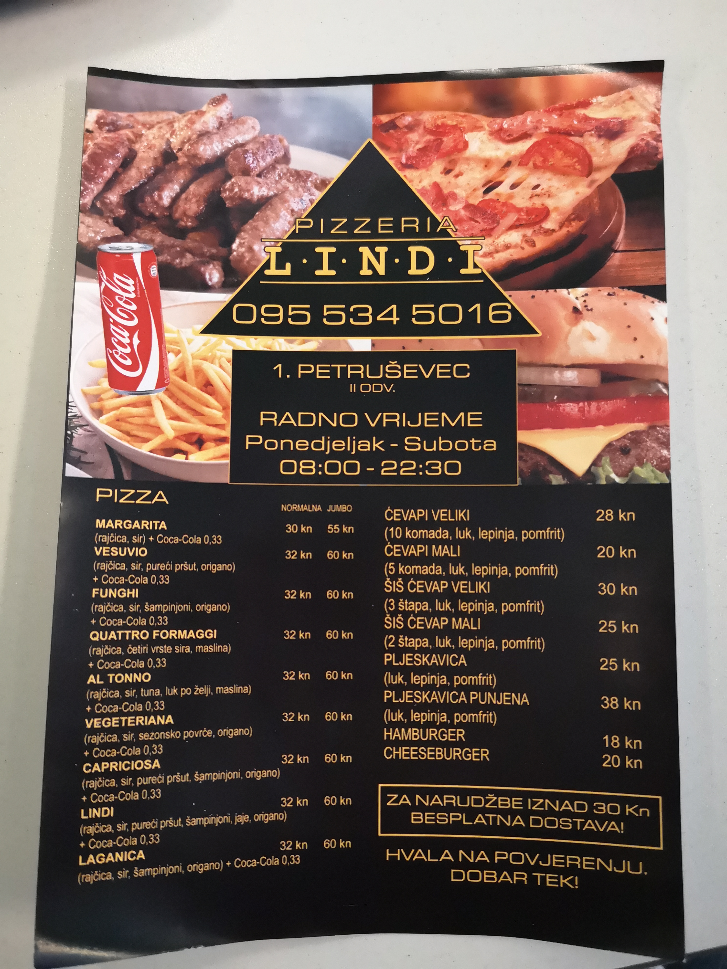 Pizzeria Lindi 20 Zagreb Restaurant Near Me Book Now