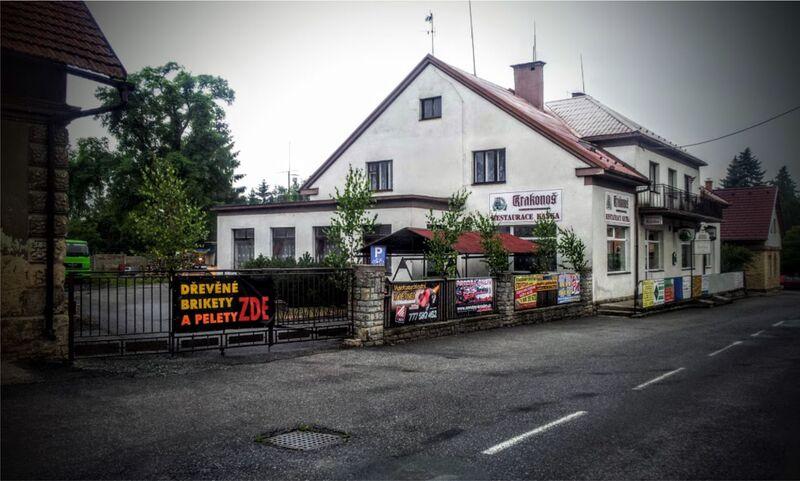 Restaurace Katka v Přepychách s ubytováním.