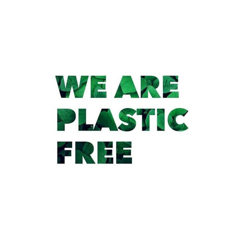 il servizio dei nostri drink e del nostro food è ufficialmente Plastic Free,