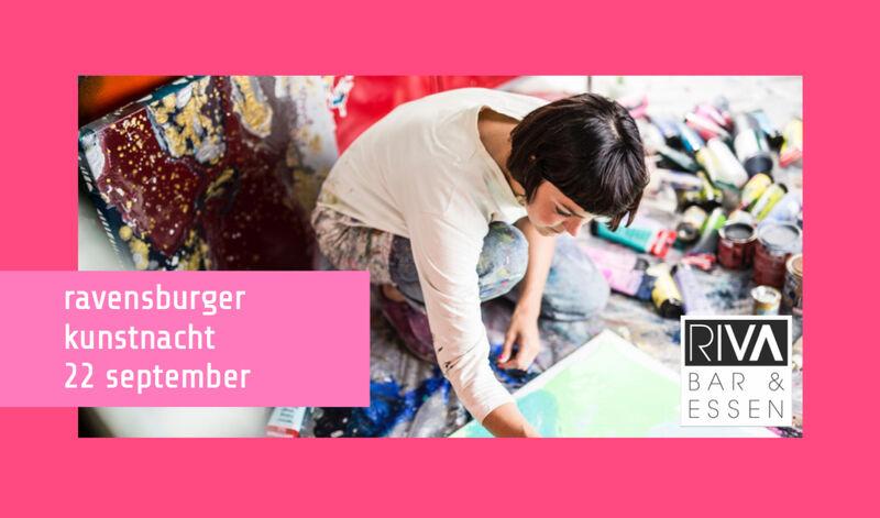Flyer Kunstnacht 2017