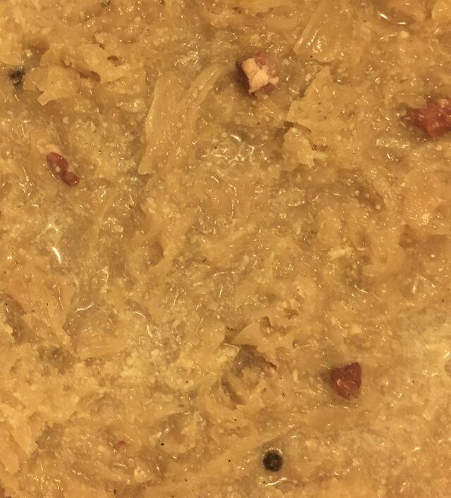Hausgemachtes Sauerkraut