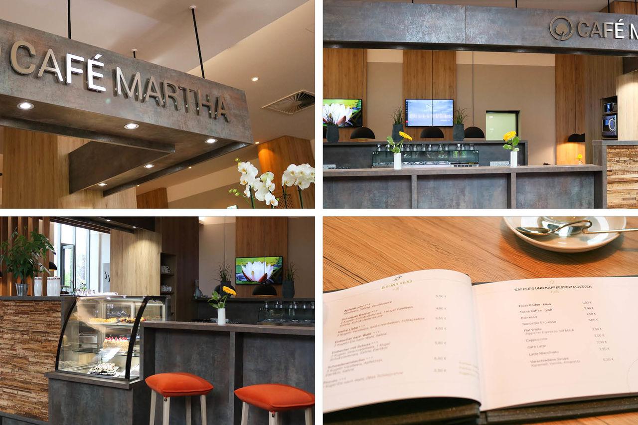 Und so sieht es jetzt im neuen Café Martha aus...