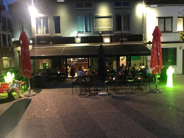 Terras by night