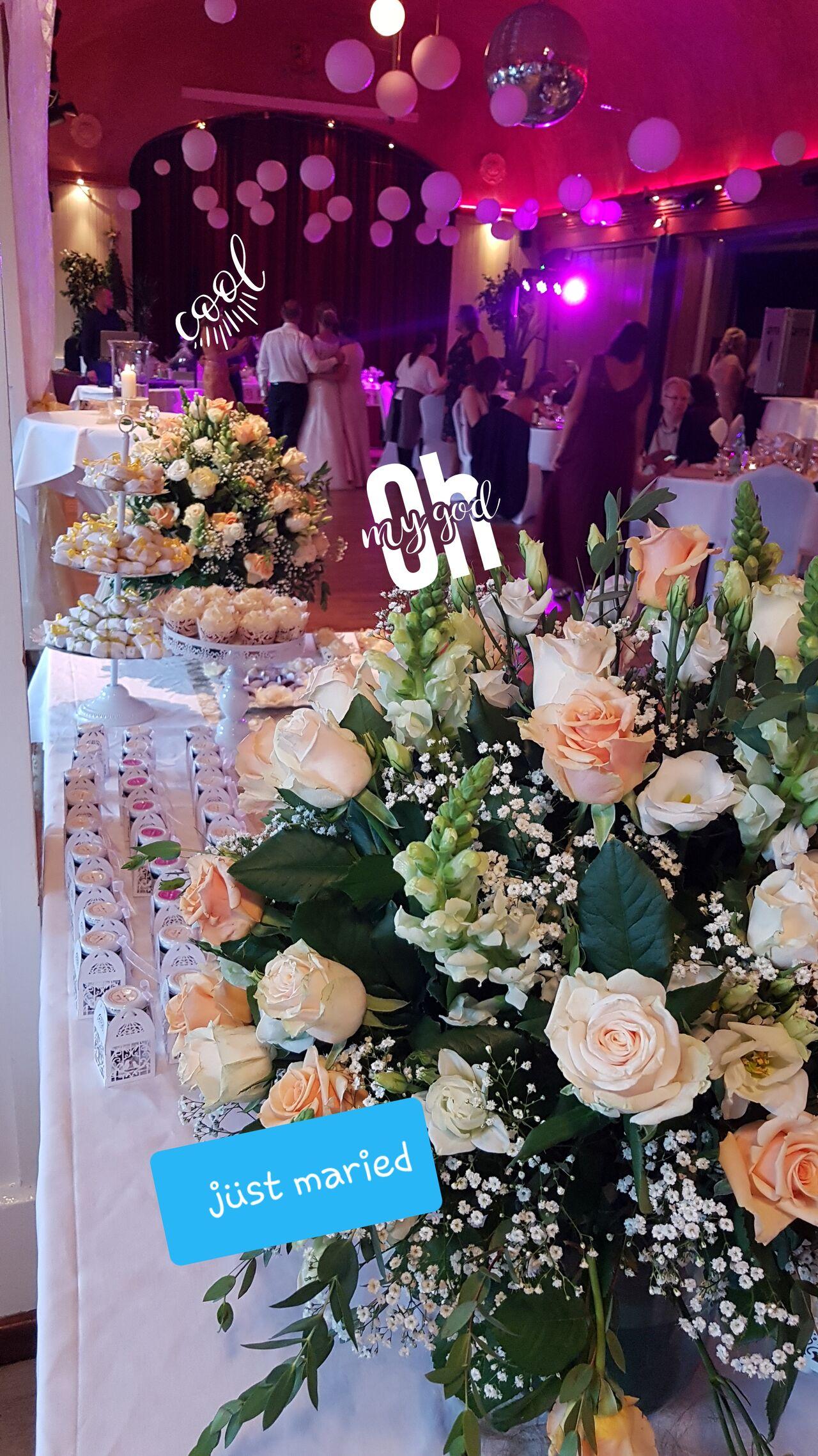 Schicke Hochzeitsdeko