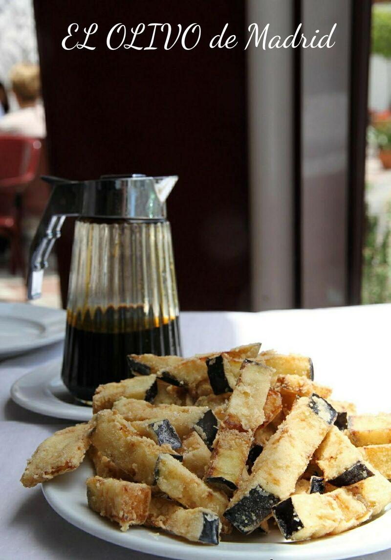 Berenjenas crujientes con miel artesana de azahar